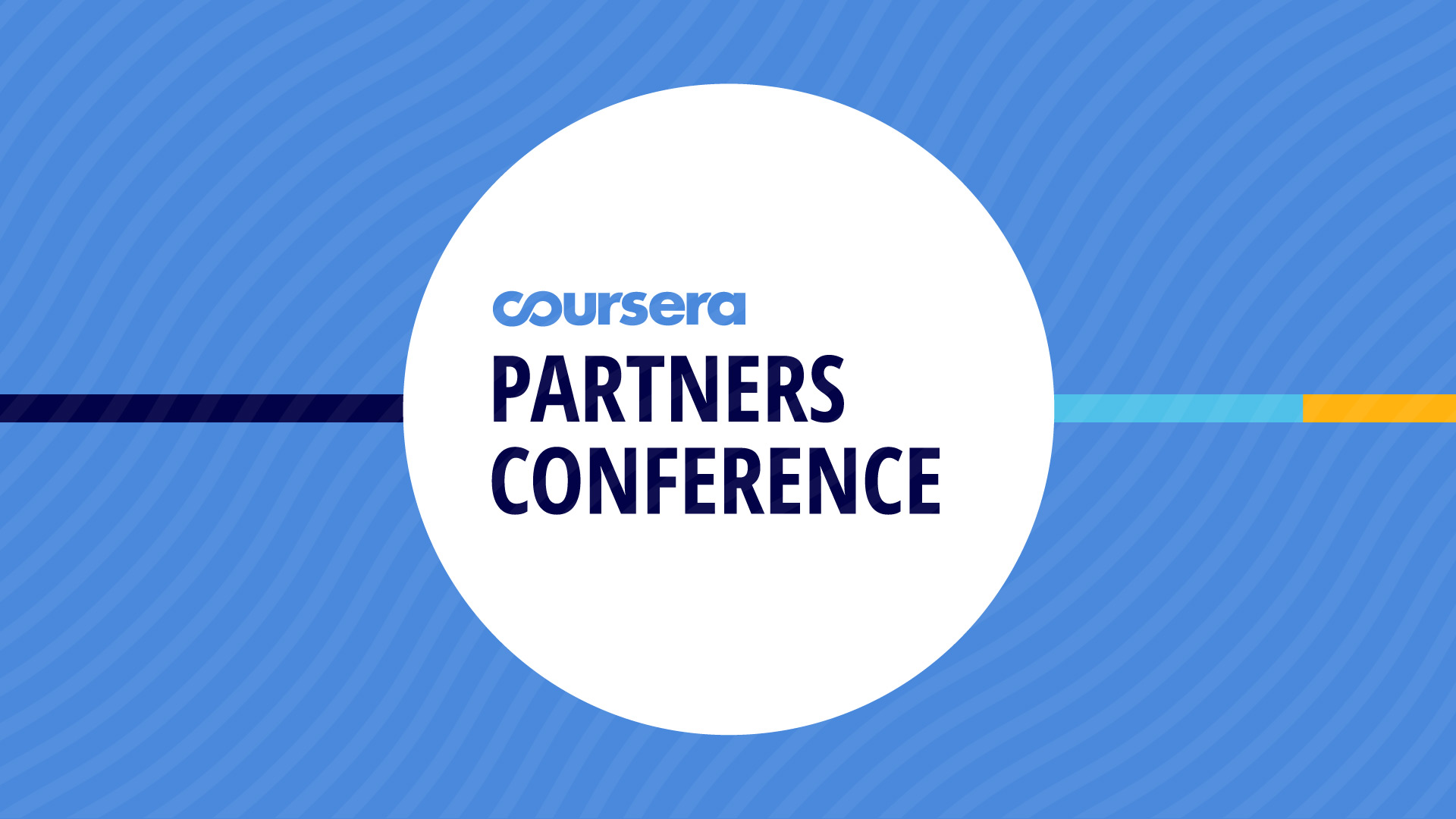 Coursera Partner Conference 2019 – Impact at Scale: Building your global campus