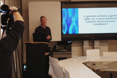 Virtual Exchange, Genetic Privacy and the Evolving Role of the Humanities