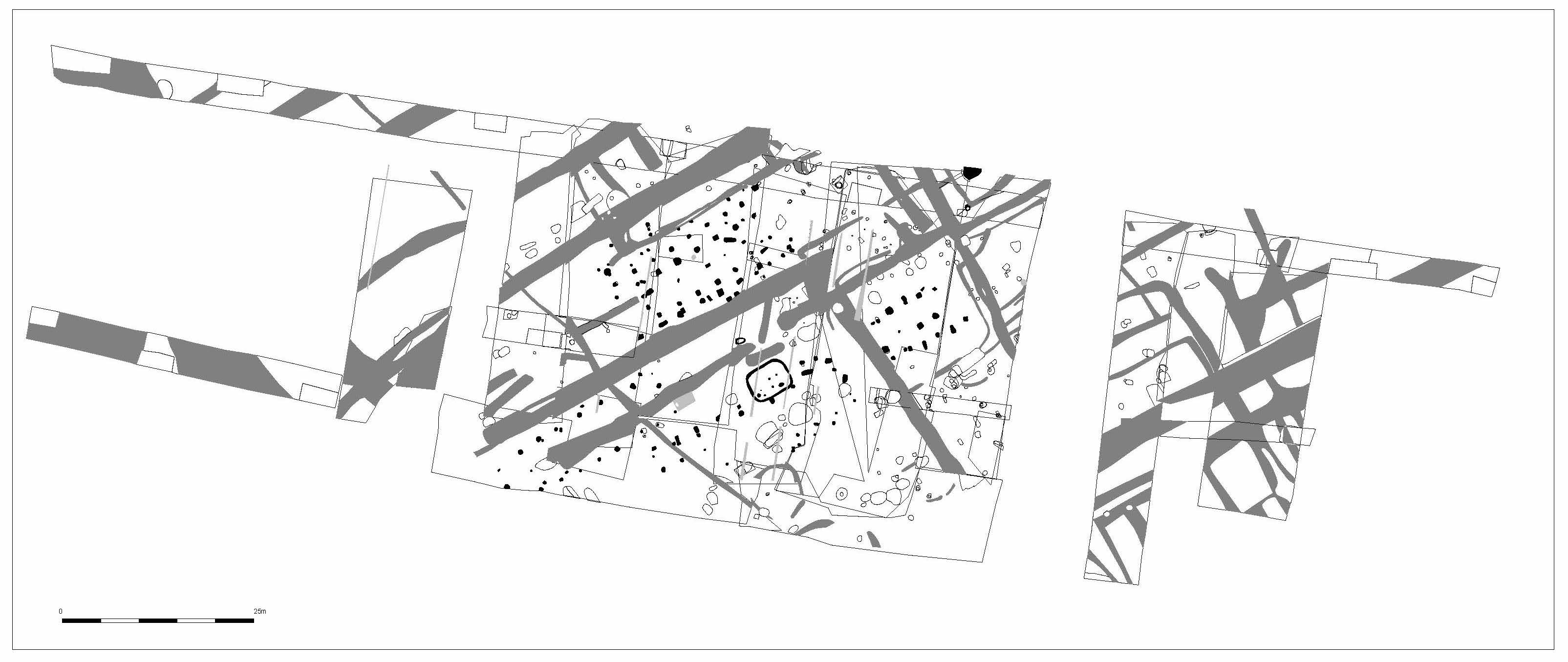 Map of the area created during the excavation process. Students get access to the file so they can inspect the structure of the area in more detail after the experience.
