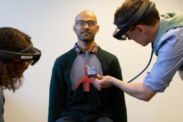 AugMedicine: AR for medical diagnosis, Lung Cases