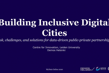 My Data 2020: Building Inclusive Smart Cities