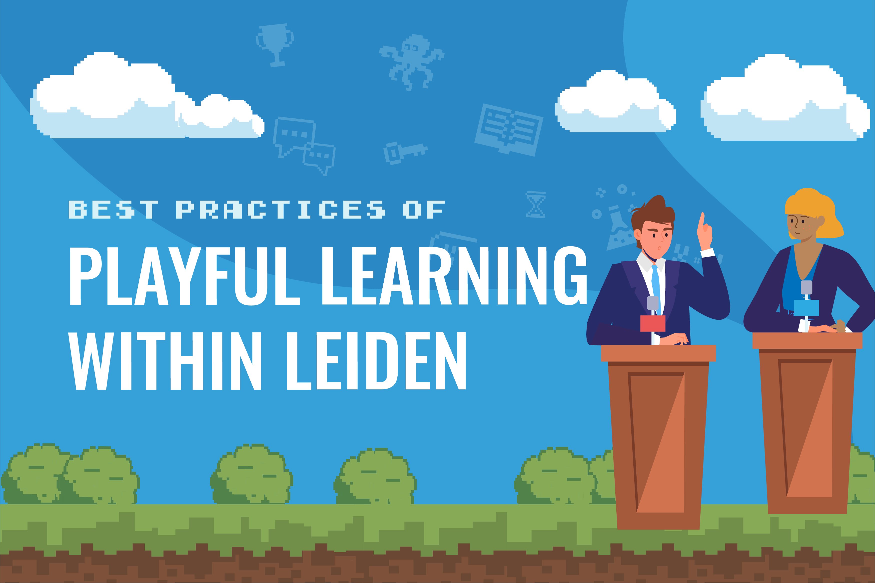 Best Practices of Playful Learning at Leiden University